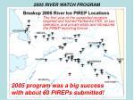 2005 river watch program