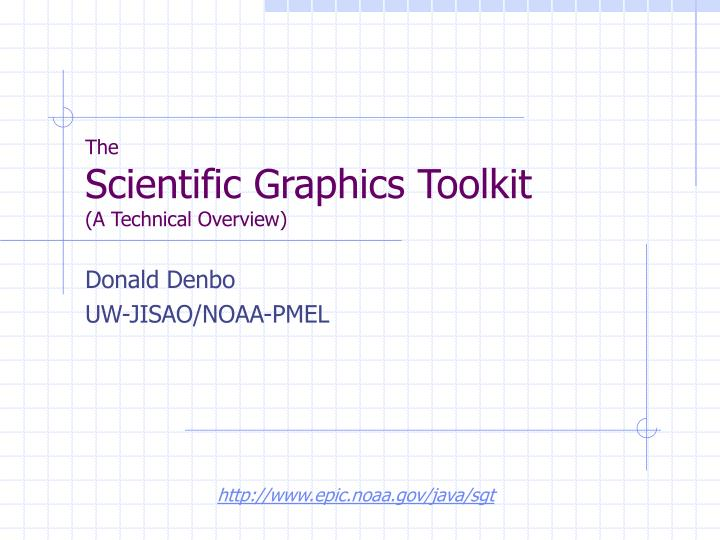 The scientific graphics toolkit a technical overview