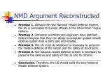 nmd argument reconstructed