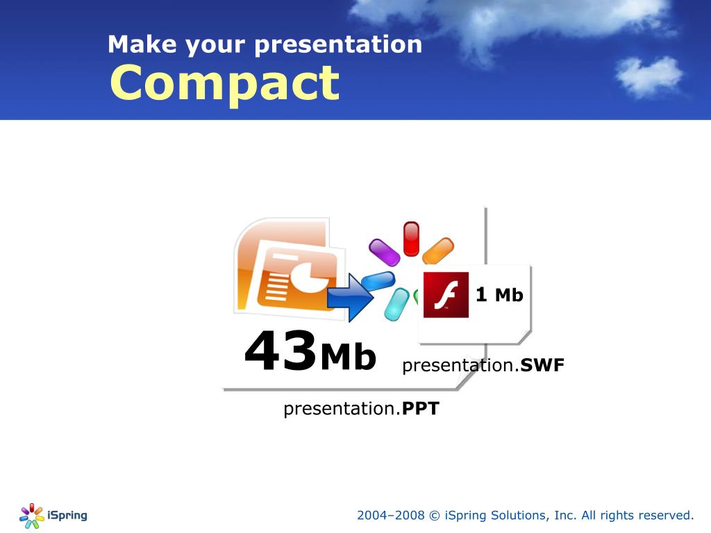Make your presentation