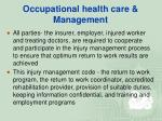 occupational health care management28