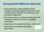 occupational medicine specialty20