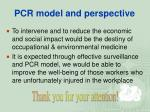 pcr model and perspective48