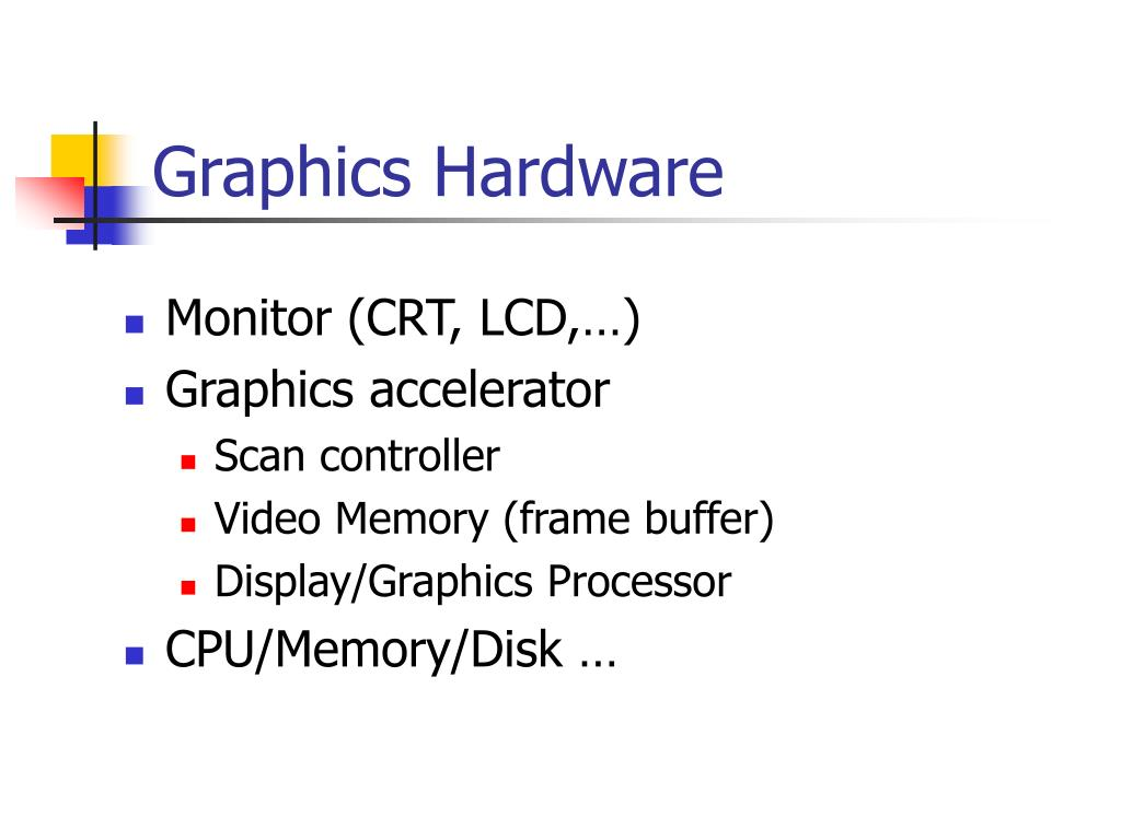 graphics hardware l.
