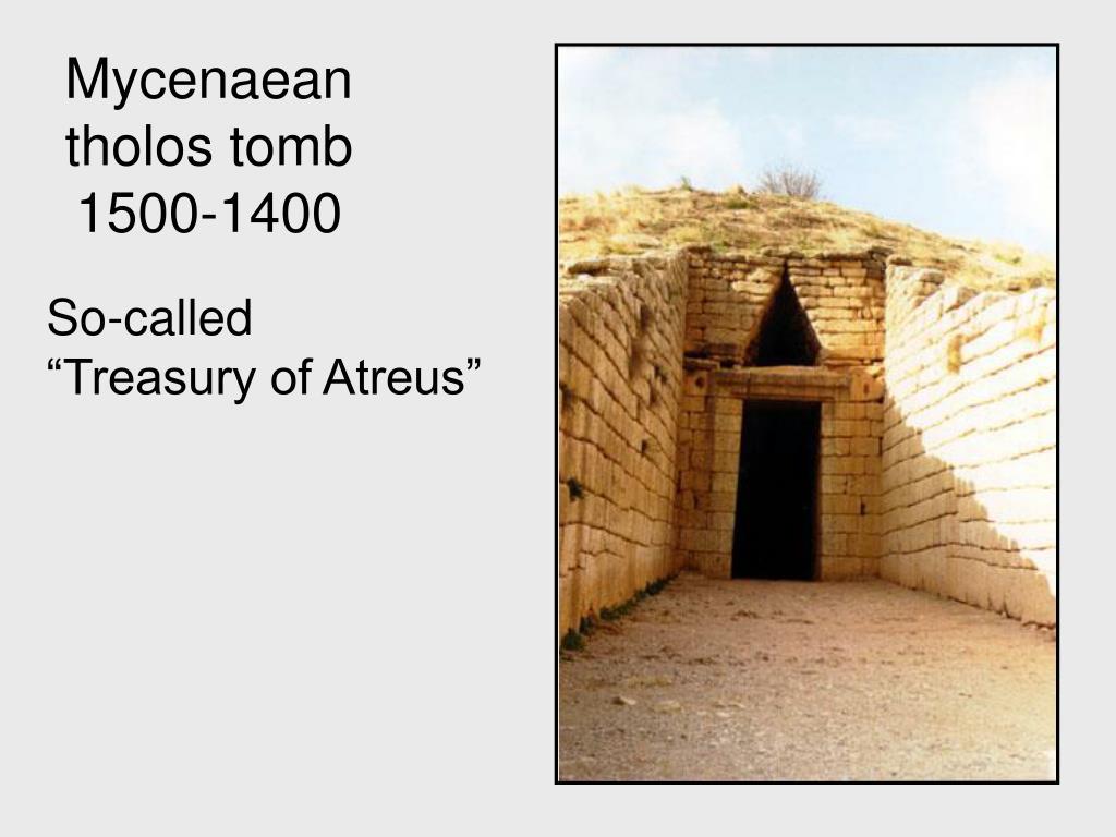 Mycenaean tholos tomb 1500-1400