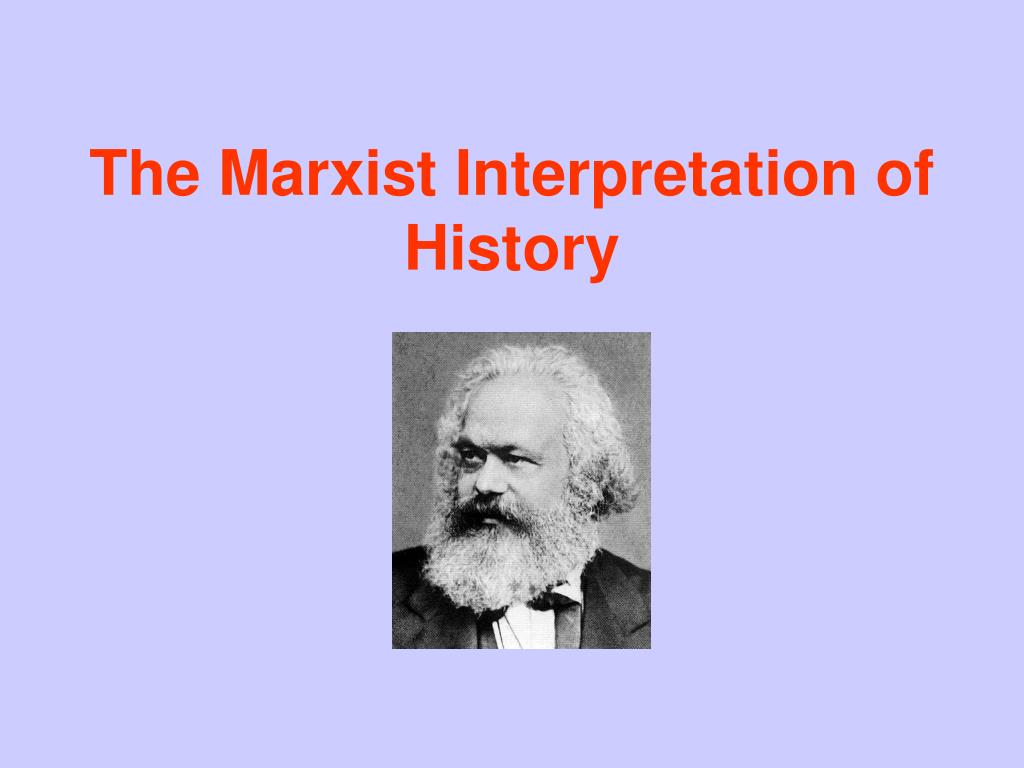 the marxist interpretation of history l.