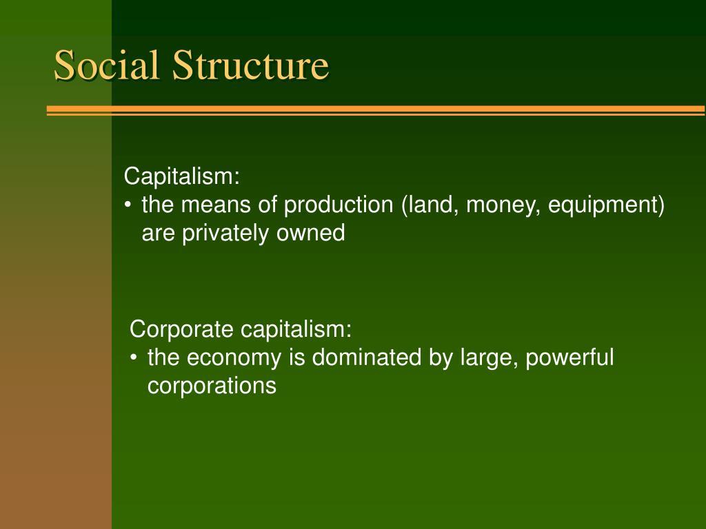 social structure l.