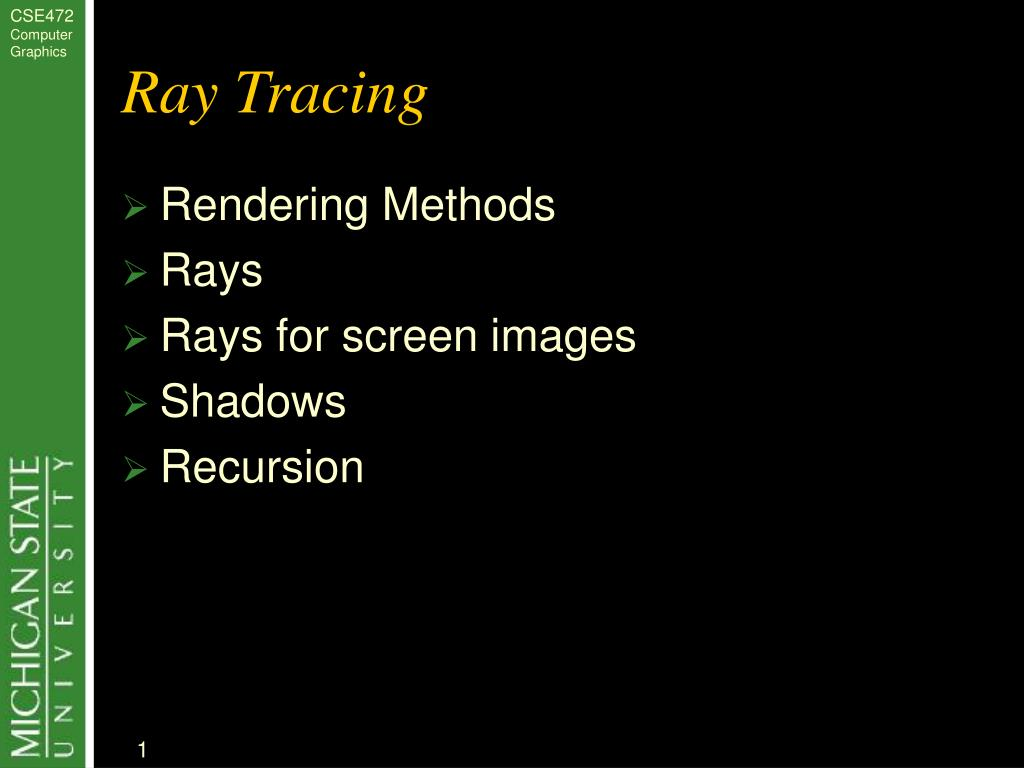 ray tracing l.