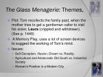 the glass menagerie themes
