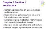 chapter 5 section 1 vocabulary1