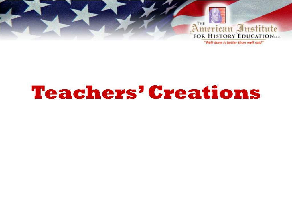 teachers creations