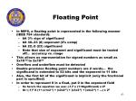 floating point63