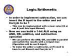 logic arithmetic22