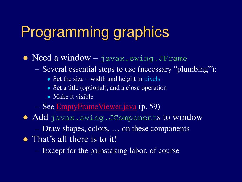 programming graphics l.