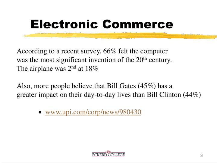 Electronic commerce3