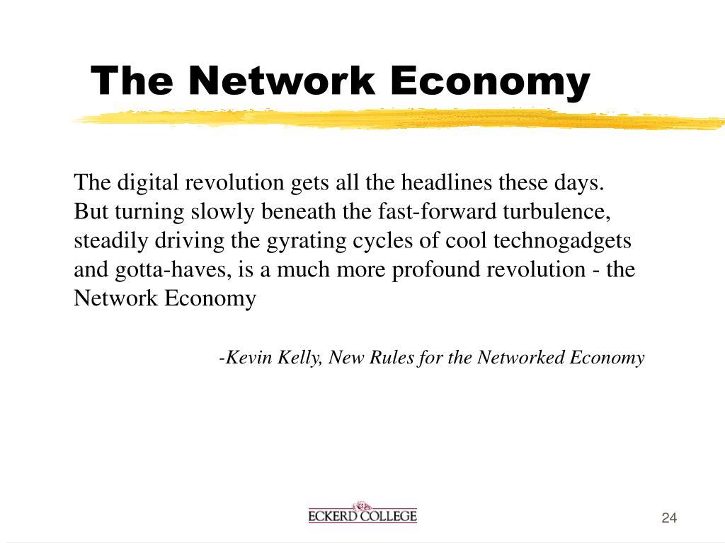The Network Economy