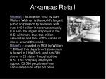 arkansas retail