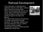 railroad development