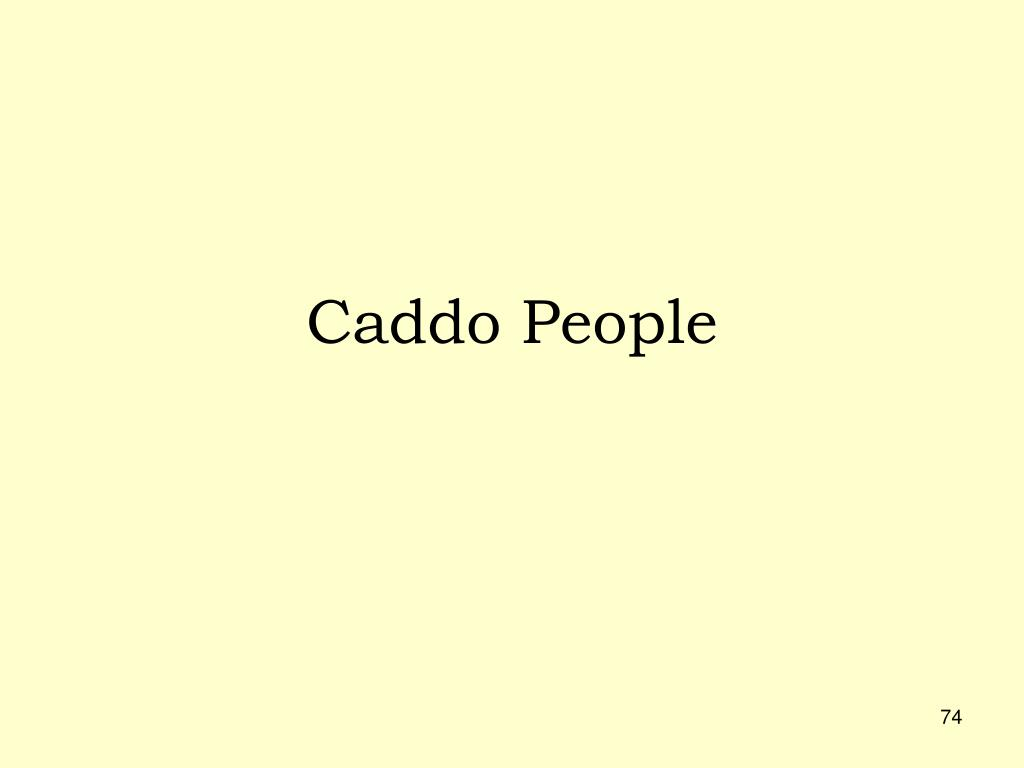 Caddo People