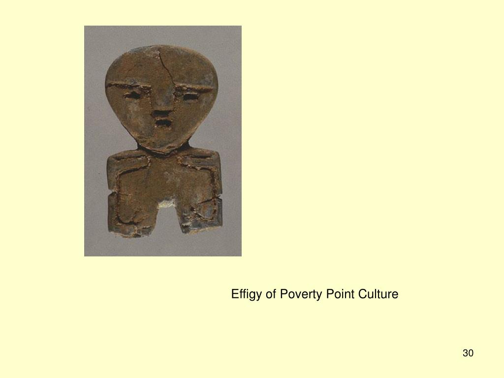 Effigy of Poverty Point Culture