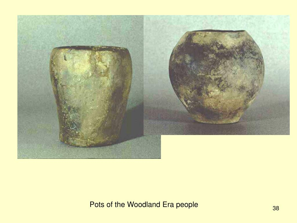 Pots of the Woodland Era people