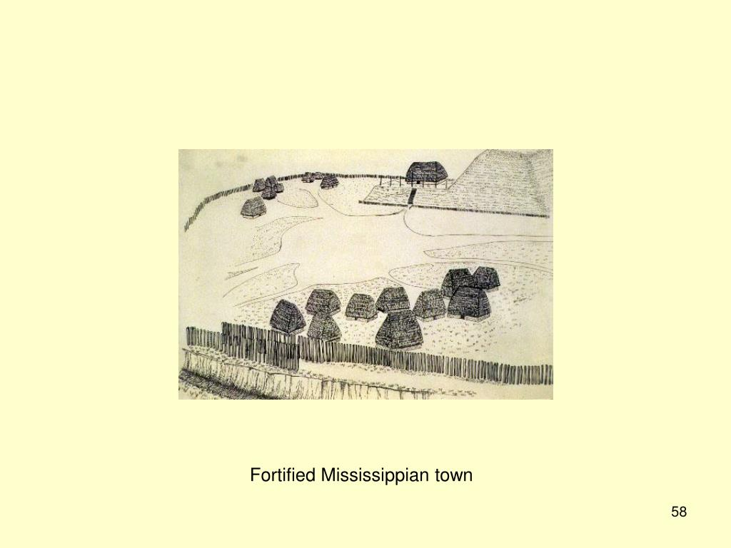 Fortified Mississippian town