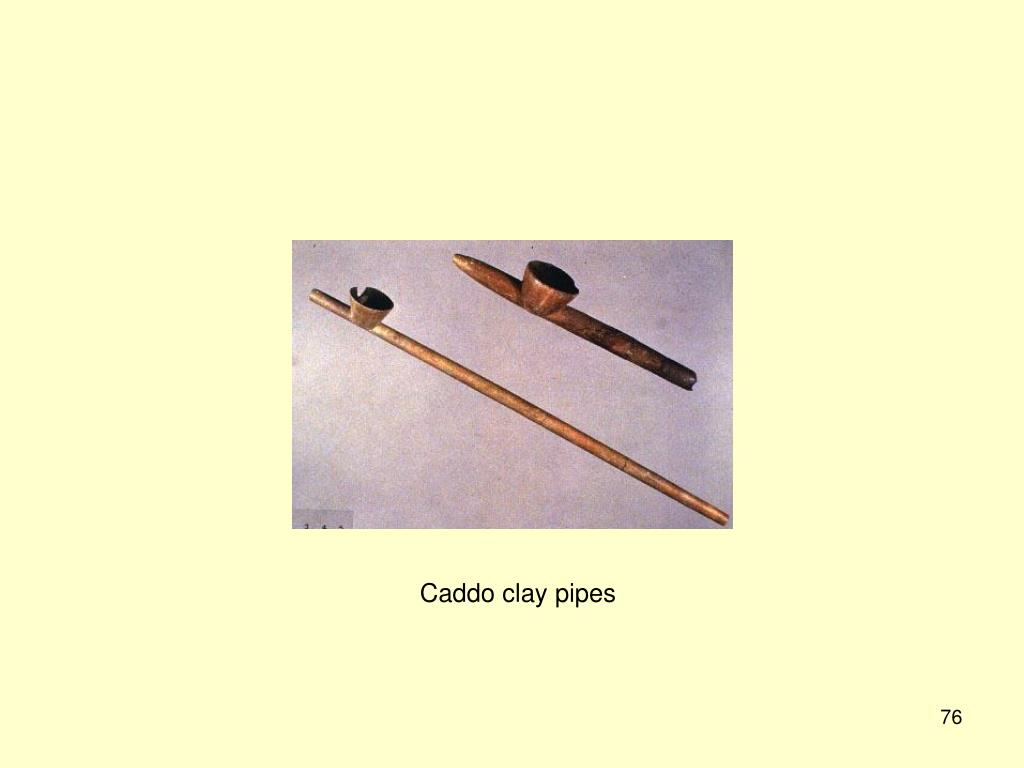 Caddo clay pipes