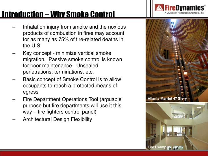 Ppt An Overview Of Building Fire And Smoke Control Systems Design And Commissioning Powerpoint Presentation Id 174233