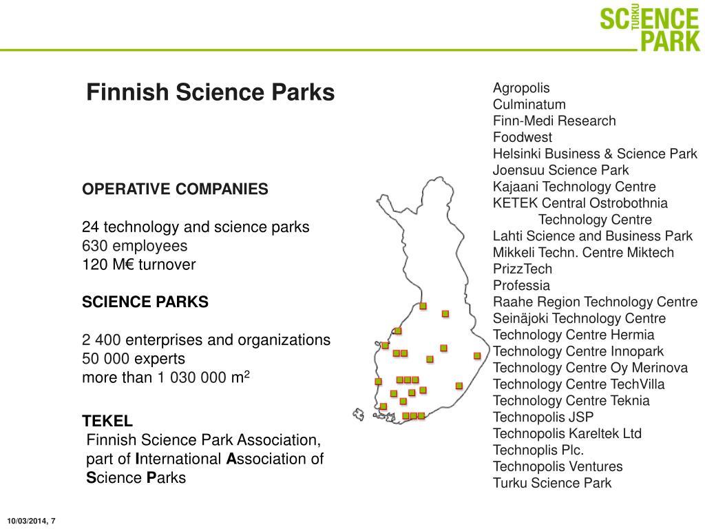Finnish Science Parks