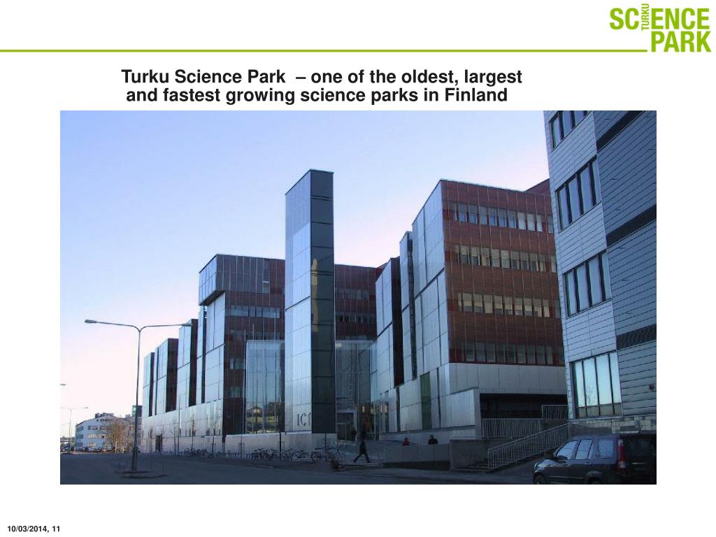 Turku Science Park  – one of the oldest, largest