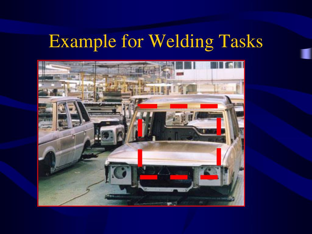 Example for Welding Tasks