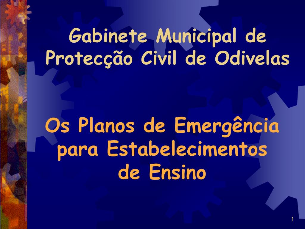 gabinete municipal de protec o civil de odivelas l.