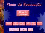 plano de evacua o