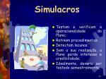 simulacros