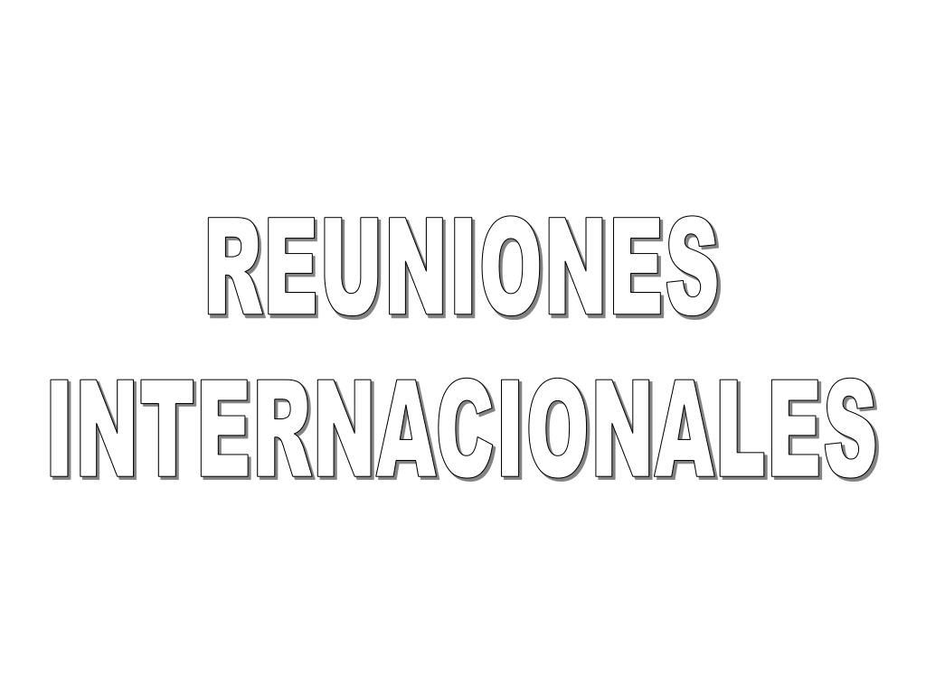 REUNIONES