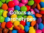colors as archetypes