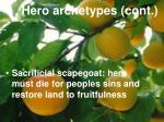 hero archetypes cont34