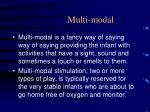 multi modal