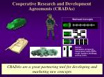 cooperative research and development agreements cradas