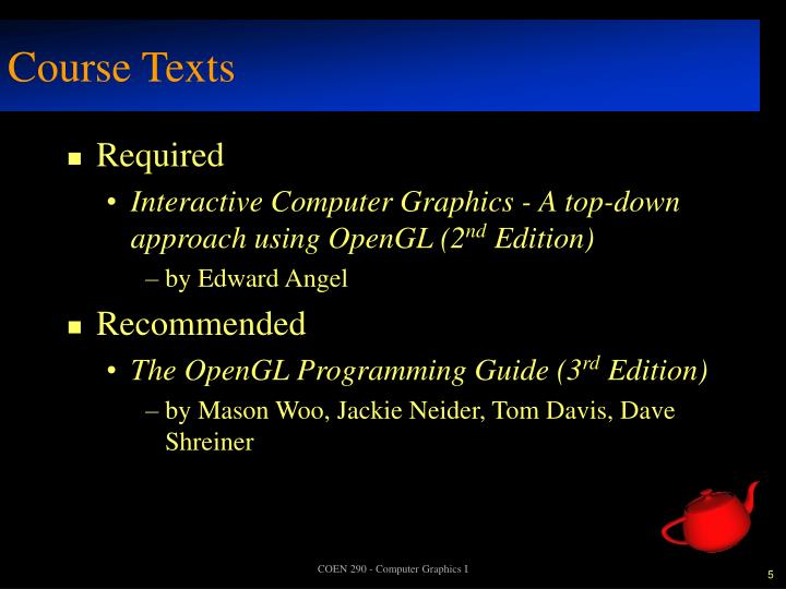 Course Texts