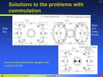 solutions to the problems with commutation33