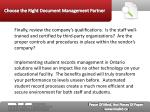 choose the right document management partner11