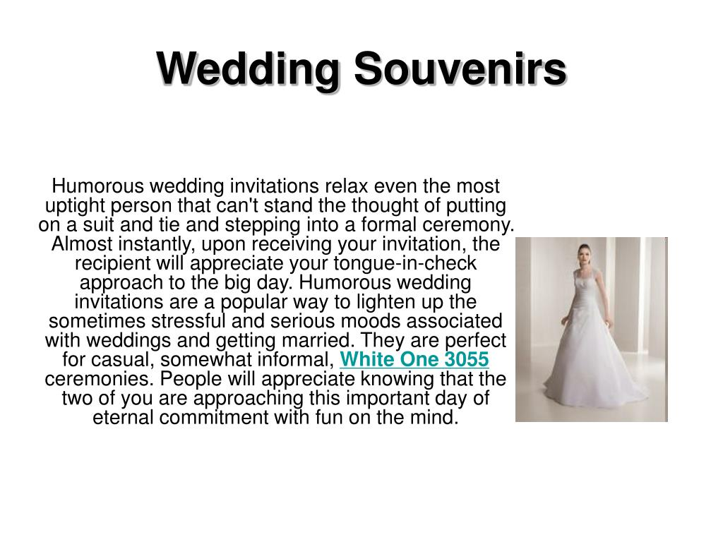 wedding souvenirs l.