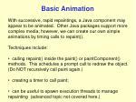 basic animation