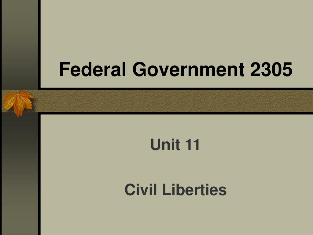 federal government 2305 l.