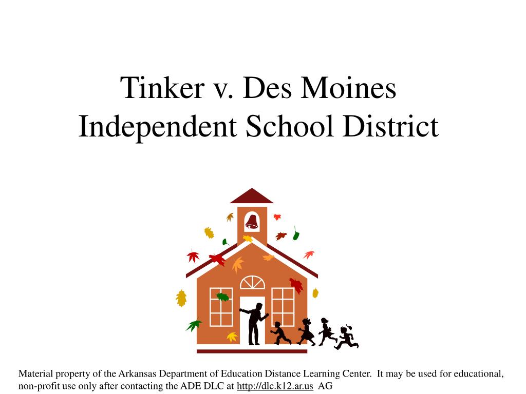 tinker v des moines independent school district l.