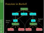 translate in barbell