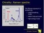 chirality raman spectra