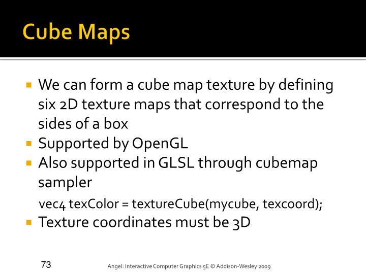 Cube Maps
