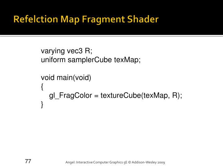 Refelction Map Fragment Shader